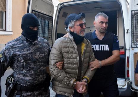 """""""Împachetat"""" pentru Italia: Mafiotul Vito Bigione a fost arestat, vineri, de Curtea de Apel Oradea"""