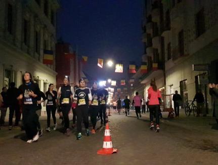 Şi noaptea se aleargă! 350 de sportivi au concurat la Oradea Night Run (FOTO/VIDEO)