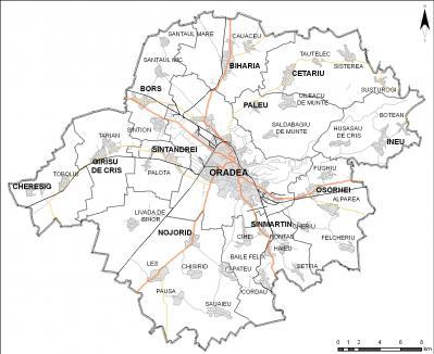 Zona Metropolitană Oradea se extinde până la Ineu