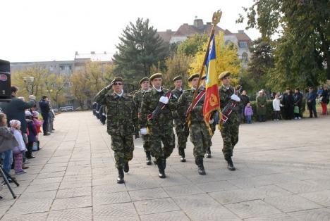Orădenii, invitaţi la ceremoniile de Ziua Armatei şi chiar la o vizită într-o unitate militară