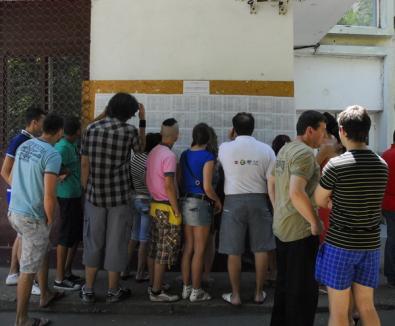 Peste o treime din elevii bihoreni care au dat Bacul au contestat notele primite