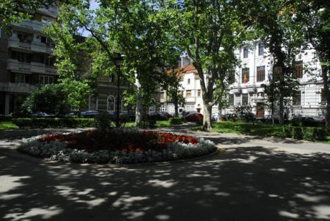 Parcul fără bănci
