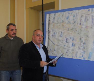 Primăria vrea să 'îndrepte' linia de tramvai din Centrul Civic