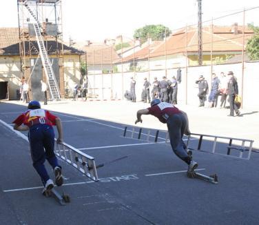 Pompierii voluntari din Popeşti, pe locul patru în ţară