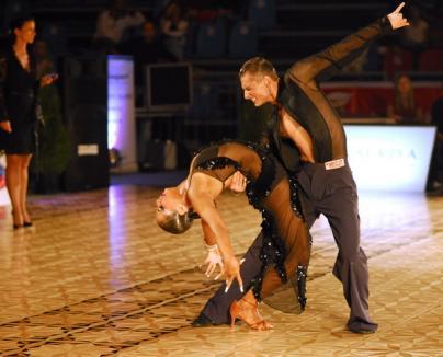 Dansatorii clubului Stephany, pe locul 4 în secţiunea latino a Varadinum Dance Festival (FOTO)
