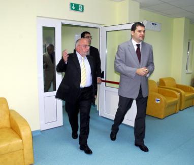 Ambulatoriul Spitalului Municipal a fost inaugurat de ministrul Sănătăţii (FOTO)