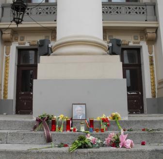 Orădenii îl omagiază pe preşedintele Poloniei