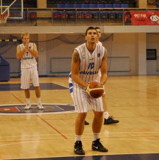 CSM Oradea a învins, după prelungiri, pe BC Argeş Piteşti, scor 77-74