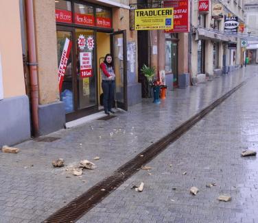 Strada Republicii, tot mai periculoasă