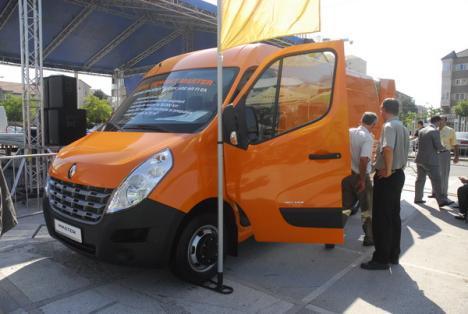 Noul Renault Master, lansat şi la Oradea (FOTO)
