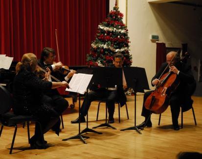 Cvartetul Operei din Napoli a cântat piese celebre pentru copiii nevoiaşi (FOTO)