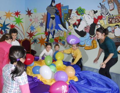 Cei care fac shopping la Lotus îşi pot lăsa copiii să se distreze într-un nou loc, la Maciu Piciu (FOTO)