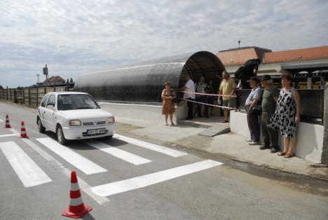 Pasajul subteran dintre Piaţa Bucureşti şi strada Ecaterina Teodoroiu a fost dat în folosinţă (FOTO)