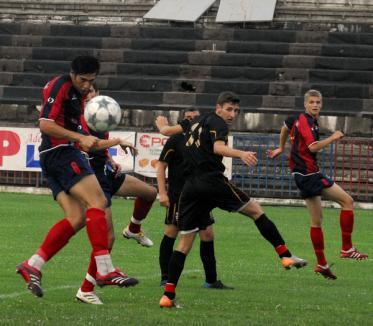 FC Bihor, prima reprezentaţie cu public (FOTO)