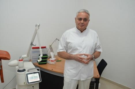 Tehnică revoluţionară la Oradea: Cum se pot trata curat, rapid, fără riscuri şi durabil incontinenţa urinară şi prolapsul genital al femeilor (FOTO)
