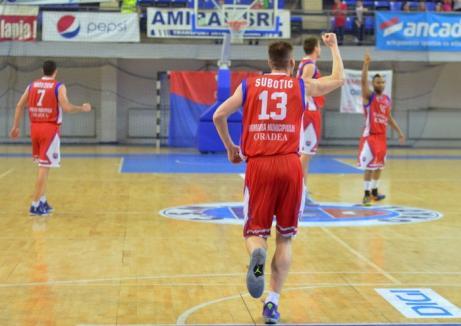 CSM Oradea a câştigat şi cel de-al doilea meci din play-off împotriva SCM U Craiova (FOTO)
