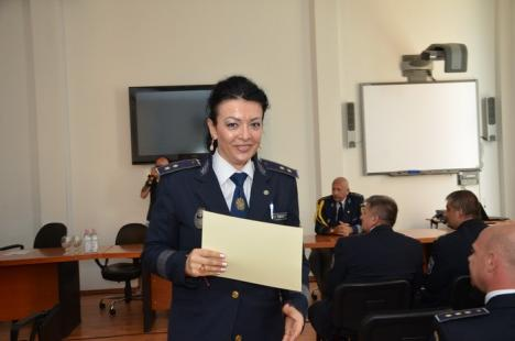 Ziua Poliţiei de Frontieră, sărbătorită şi în Oradea cu avansări înainte de termen (FOTO)