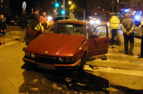 Accident spectaculos: BMW contra BMW (FOTO)
