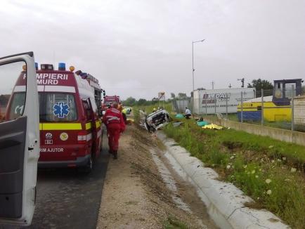 Accident devastator la Beiuș: Patru persoane au murit! (FOTO)