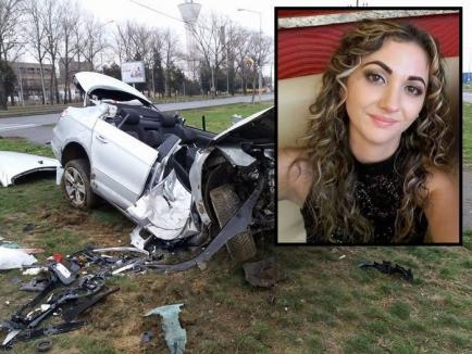 Drum lin spre îngeri! A murit Alina Fekete, tânăra grav rănită în accidentul de Anul Nou, de pe Șoseaua Borşului