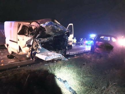 TIR cu numere de Bihor implicat într-un accident cu 3 victime în judeţul Braşov (FOTO)