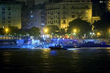 Accident groaznic pe Dunăre, la Budapesta: Un vas plin cu turişti s-a scufundat, şapte persoane au murit, 19 sunt dispărute (FOTO)