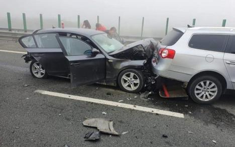Graba spre mare: Carambol cu 55 de mașini, 155 de persoane implicate și 17 victime pe Autostrada Soarelui (FOTO / VIDEO)