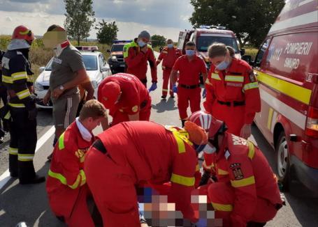 Depăşire fatală: Cum s-a petrecut accidentul mortal de pe DN19 din Bihor