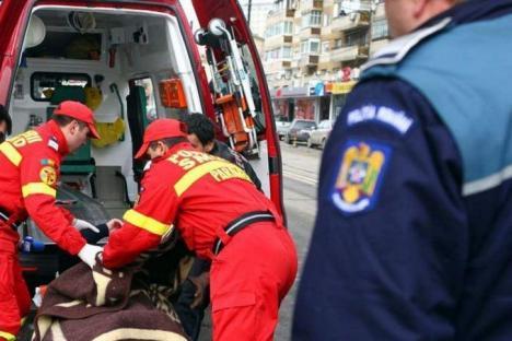 Un băiețel din Oradea, grav rănit, după ce a căzut de la etajul 3