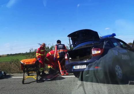 Concluziile poliţiştilor în accidentul de pe DN 19: şoferul din Audi a depăşit neregulamentar (FOTO)