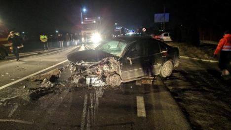 Accident extrem de grav pe DN 1, la Lugașu de Jos: 12 victime, două persoane au decedat! (FOTO / VIDEO)