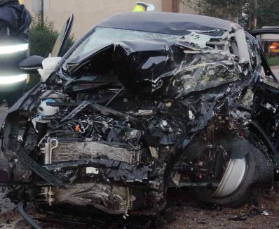 Accident teribil la Tărcaia: Un tânăr de 32 ani a murit zdrobit într-o maşină condusă de un şofer băut