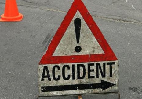 Fără permis, un bihorean de 17 ani a intrat cu Audi într-un stâlp, a lovit o casă şi apoi s-a oprit pe şosea