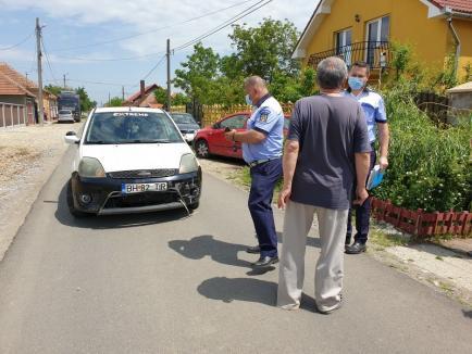 Accident în Girișu de Criș: Un copilaș de 4 ani, în stop cardio respirator, după ce a fost lovit de o mașină (FOTO)