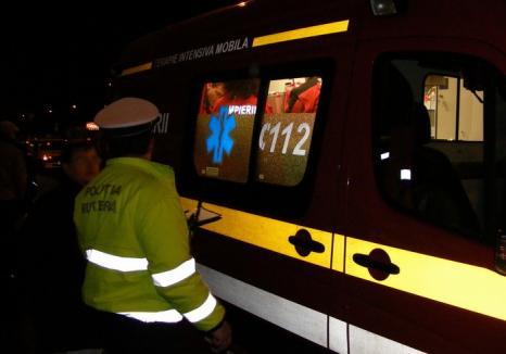Accident cu patru victime între Lăzăreni şi Gepiş. Un tânăr de 32 de ani, în stop cardio respirator