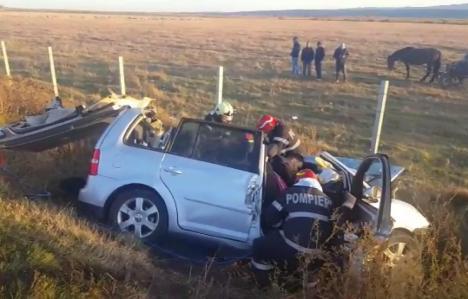 Accident grav pe DN2: Patru persoane au murit, iar cinci sunt rănite