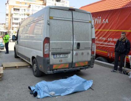 Accident mortal la Profi: şoferul unei dubiţe a strivit o femeie în vârstă de 72 de ani (FOTO)