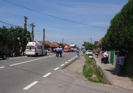 Concluzii în cazul accidentului mortal de lângă Urvind: Motociclistul a intrat în depăşire pe linie continuă, şoferul a virat fără să semnalizeze