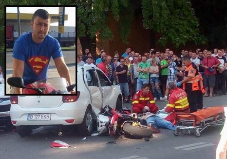 Accident grav pe strada Transilvaniei din Oradea: Victima, un motociclist, şi-a pierdut viaţa! (FOTO/VIDEO)