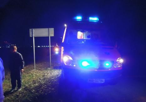 Accident pe DN1: Un biciclist s-a izbit de o maşină