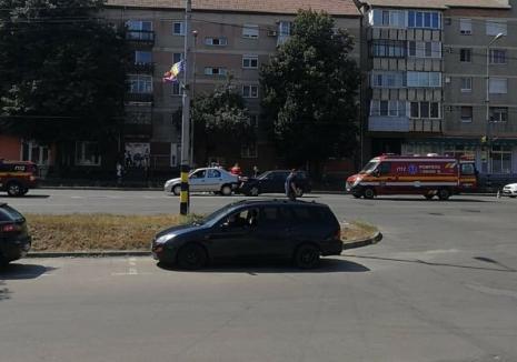 Ghinion cu... noroc: O orădeancă a fost implicată în trei accidente rutiere în ultimele două săptămâni şi de fiecare dată a scăpat doar cu vânătăi (FOTO)