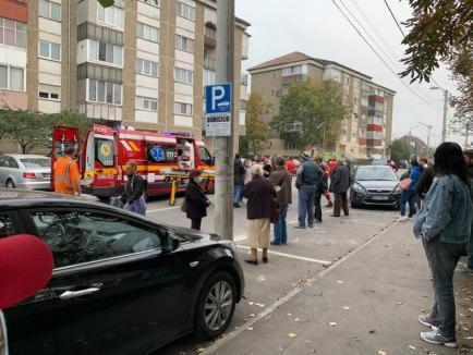 Accident în Oradea: O fetiţă de 10 ani a fost lovită de o maşină şi a ajuns la spital