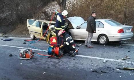 Cele două persoane care au murit în accidentul care a paralizat traficul pe DN 1 sunt din Bihor! (FOTO)