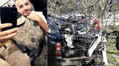 Designerul Răzvan Ciobanu conducea cu peste 120 km/h când a murit