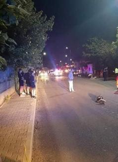 Viteza ucigașă: Motociclist de 33 de ani mort la Sânmartin, după ce a pierdut controlul într-o curbă (FOTO)