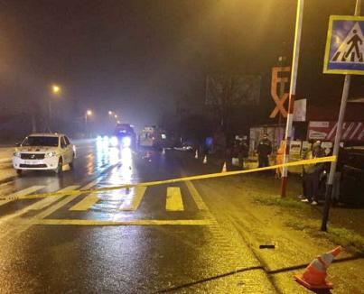 Beat la volan, un şef din SRI a provocat un accident mortal: A lovit o femeie de 35 de ani care trecea strada