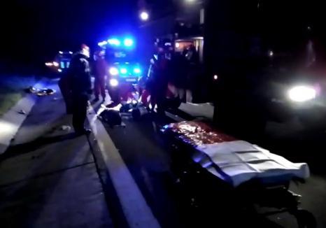 Accident cumplit pe Autostrada A3: Un şofer de TIR din Bihor a murit, sub ochii fetiței lui de 9 ani (VIDEO)