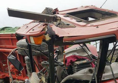 Tragedie în Forău: Un tânăr de 28 ani a murit zdrobit sub un tractor