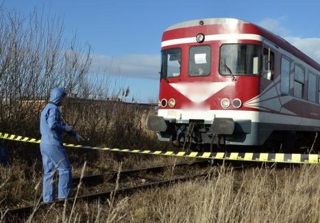 Un bărbat din Săcueni a murit joi după ce a fost lovit de tren