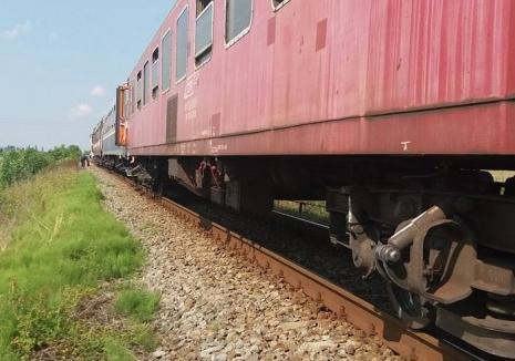 Accident de tren la Beiuş: Un bărbat a murit